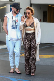 Mel B and Gary Madatyan Stills Out in Beverly Hills