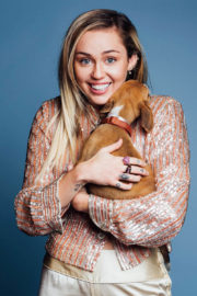 Miley Cyrus Poses for Buzzfeed Magazine, October 2017