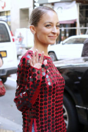 """Nicole Richie Stills at Leaves """"Today"""" TV Show in New York"""