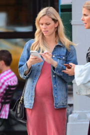 Pregnant Brooklyn Decker Stills Out and About in New York