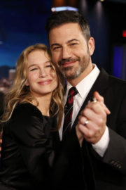 Renee Zellweger Stills at Jimmy Kimmel Live! in Los Angeles