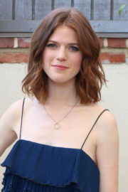 Rose Leslie Stills at The Good Fight Press Conference in West Hollywood