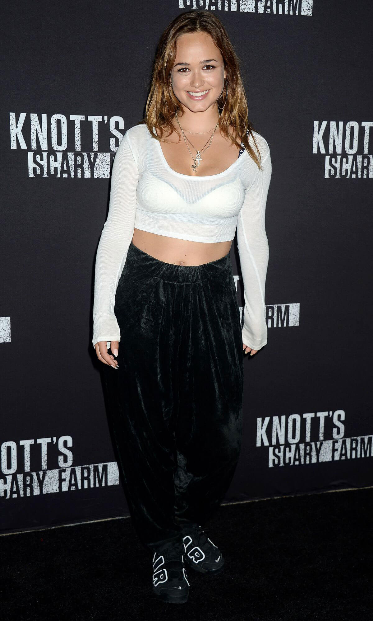 Rose Williams Stills at Knott's Scary Farm Celebrity Night in Buena Park