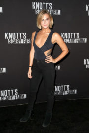 Scout Taylor-Compton Stills at Knott's Scary Farm Celebrity Night in Buena Park