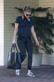 Stacy Fergie Ferguson Stills Heading to Sunday Church Service in Pacific Palisades