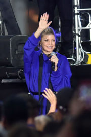 Stacy Fergie Ferguson Stills Performs At Today Show Citi Concert Series In New York