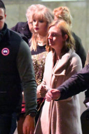 Taylor Swift Stills on the Set of Her New Music Video in London
