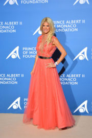 Victoria Silvstedt Stills at Monte-Carlo Gala for the Global Ccean in Monaco