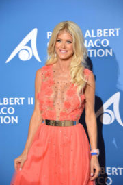 Victoria Silvstedt Stills at Monte-Carlo Gala for the Global Ocean in Monaco