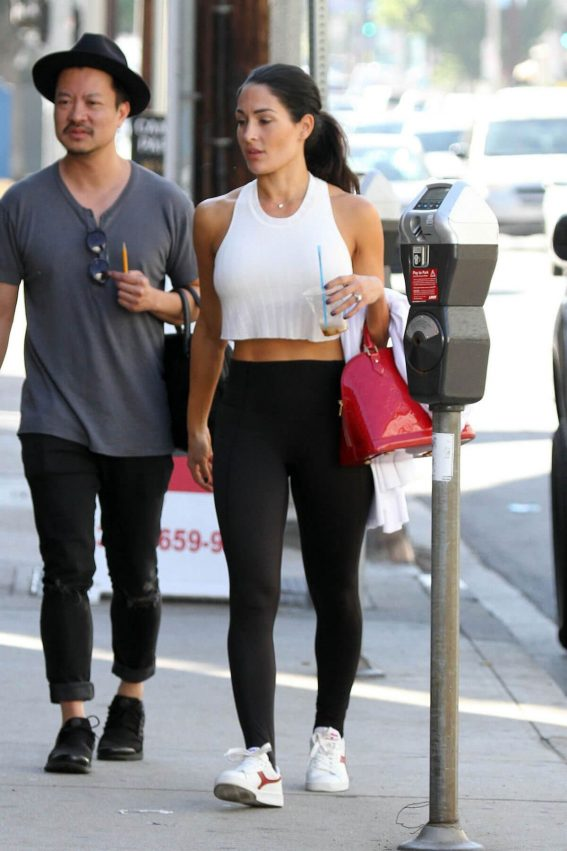 WWE Divas Nikki Bella Stills at Dance Studio in Los Angeles