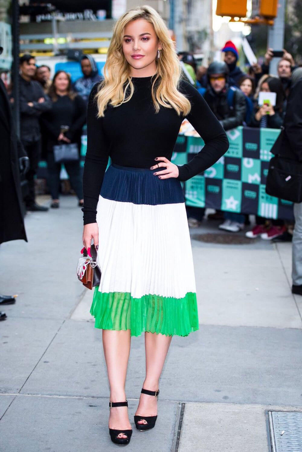 Abbie Cornish Stills at AOL Build Series in New York Images
