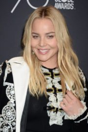 Abbie Cornish Stills at HFPA & Instyle Celebrate 75th Anniversary of the Golden Globes in Los Angeles