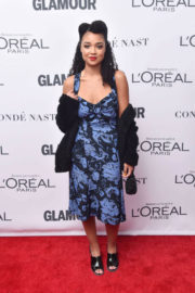 Aisha Dee Stills at Glamour Women of the Year Summit in New York