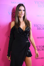 Alessandra Ambrosio Stills at 2017 Victoria's Secret Fashion Show After Party in Shanghai