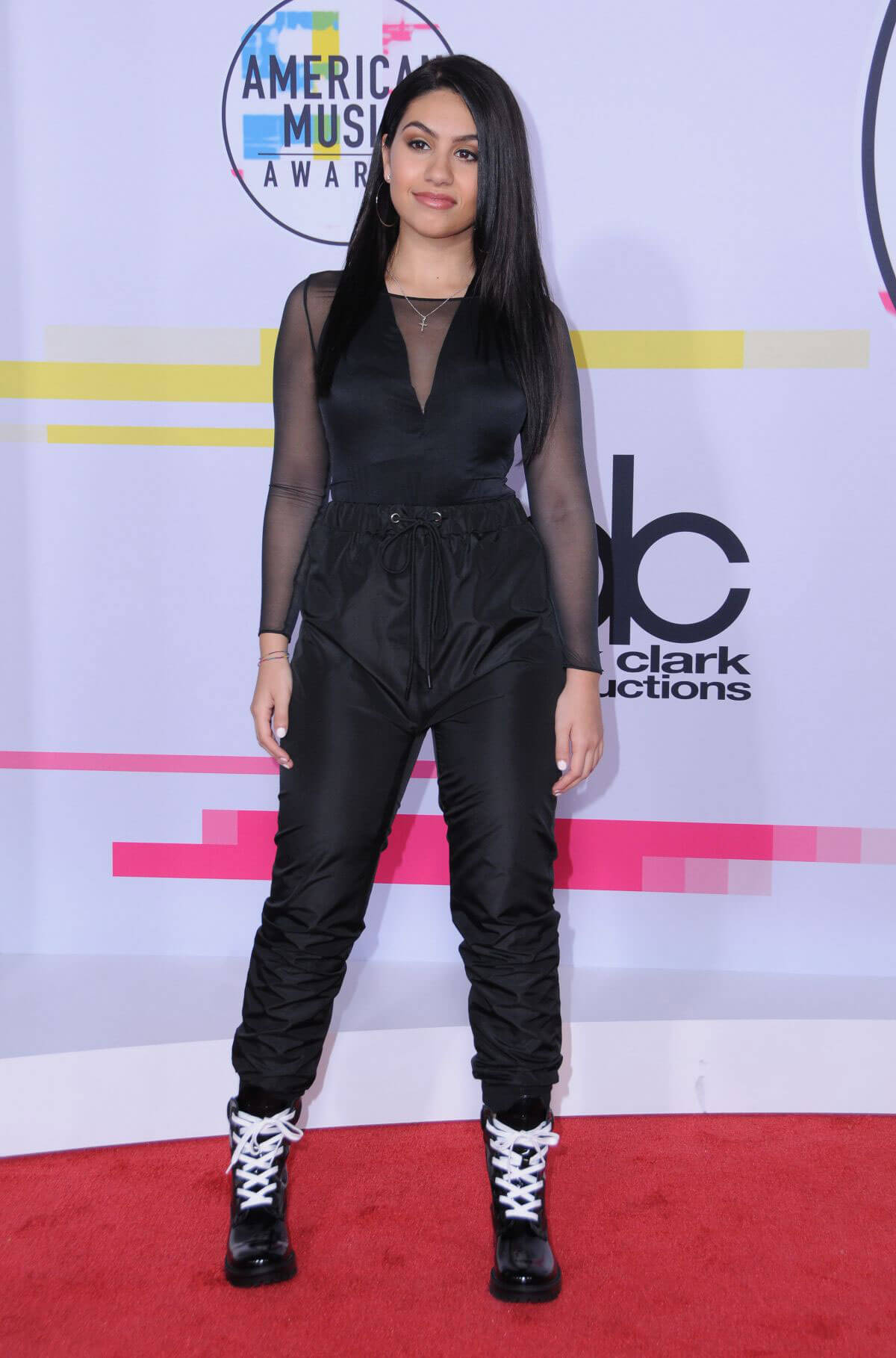 Alessia Cara Stills at American Music Awards 2017 in Los Angeles
