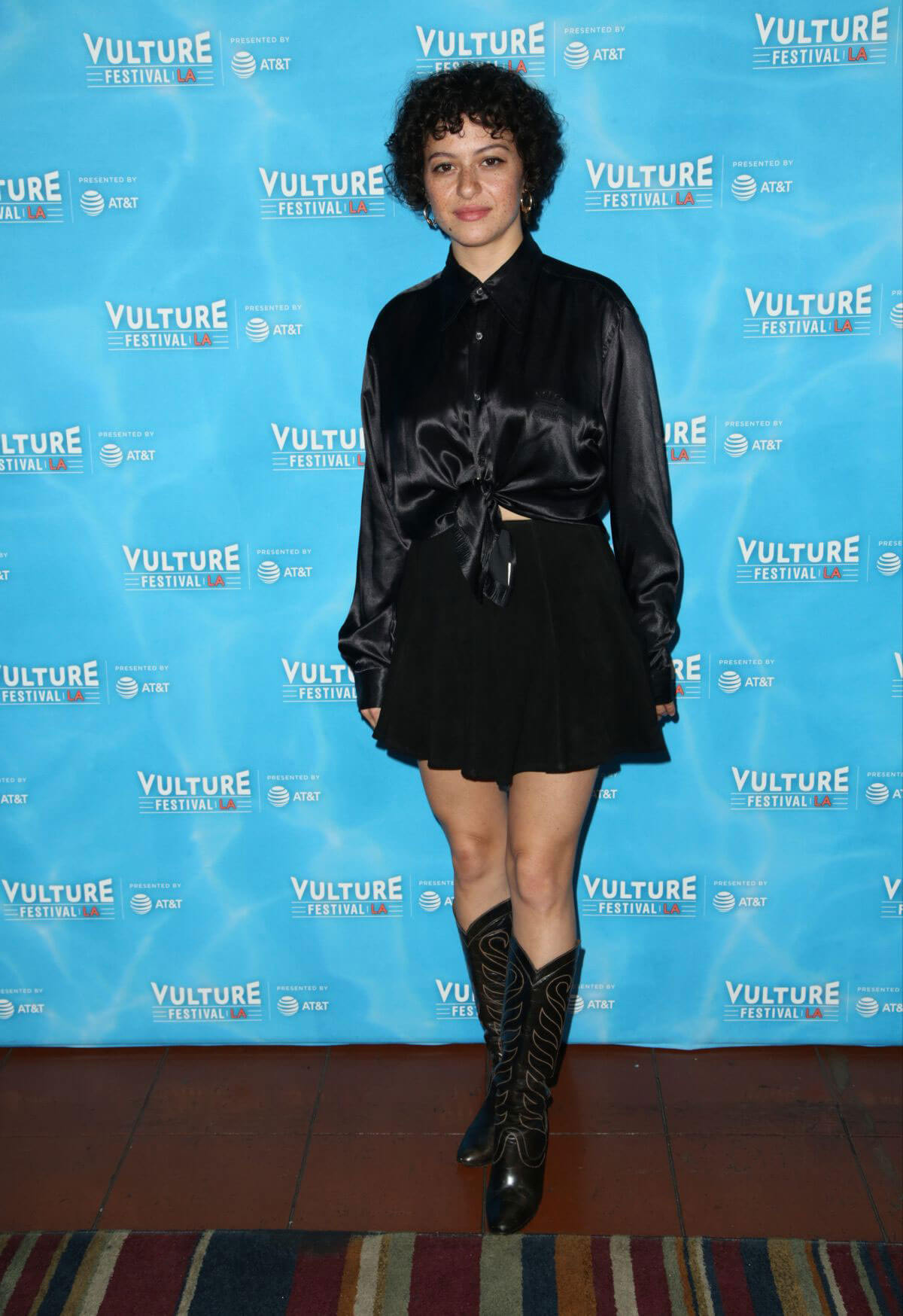 Alia Shawkat Stills at Vulture Festival's Search Party Scavenger Hunt in Hollywood