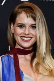 Alice Eve Stills at HFPA & Instyle Celebrate 75th Anniversary of the Golden Globes in Los Angeles