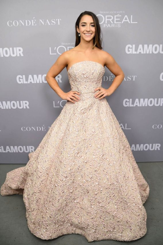 Aly Raisman Stills at Glamour Women of the Year Summit in New York