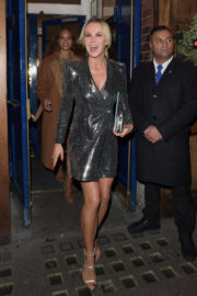 Amanda Holden Stills Leaves Everybody's Talking About Jamie Musical in London