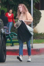 Amber Heard Stills at a Friend's House in Los Angeles