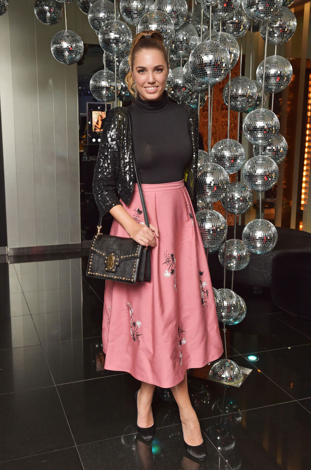 Amber Le Bon Stills at Launch of Perception at W in London 11/07/2017