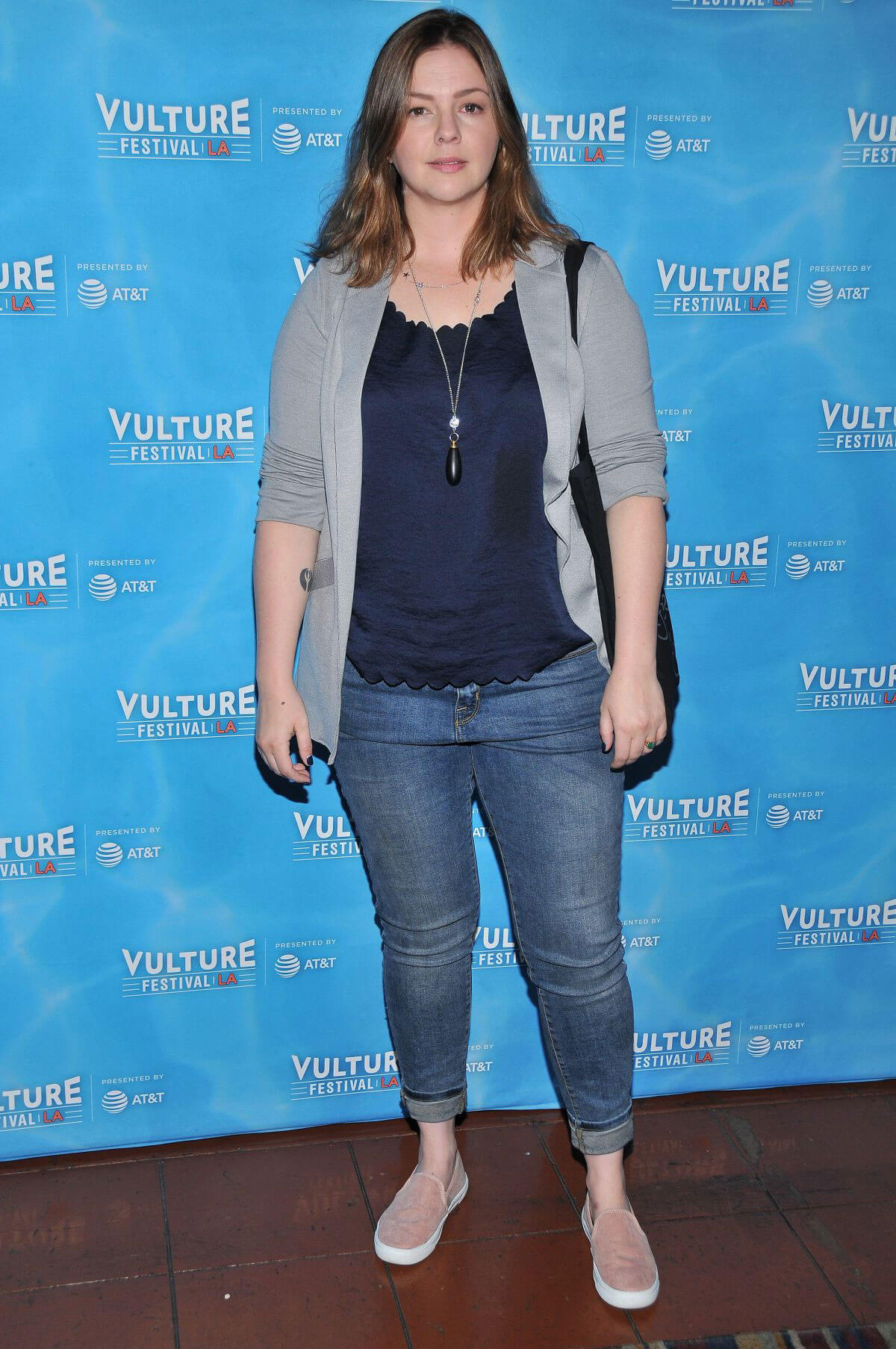 Amber Tamblyn Stills at Feminist AF Panel at Vulture Festival in Hollywood