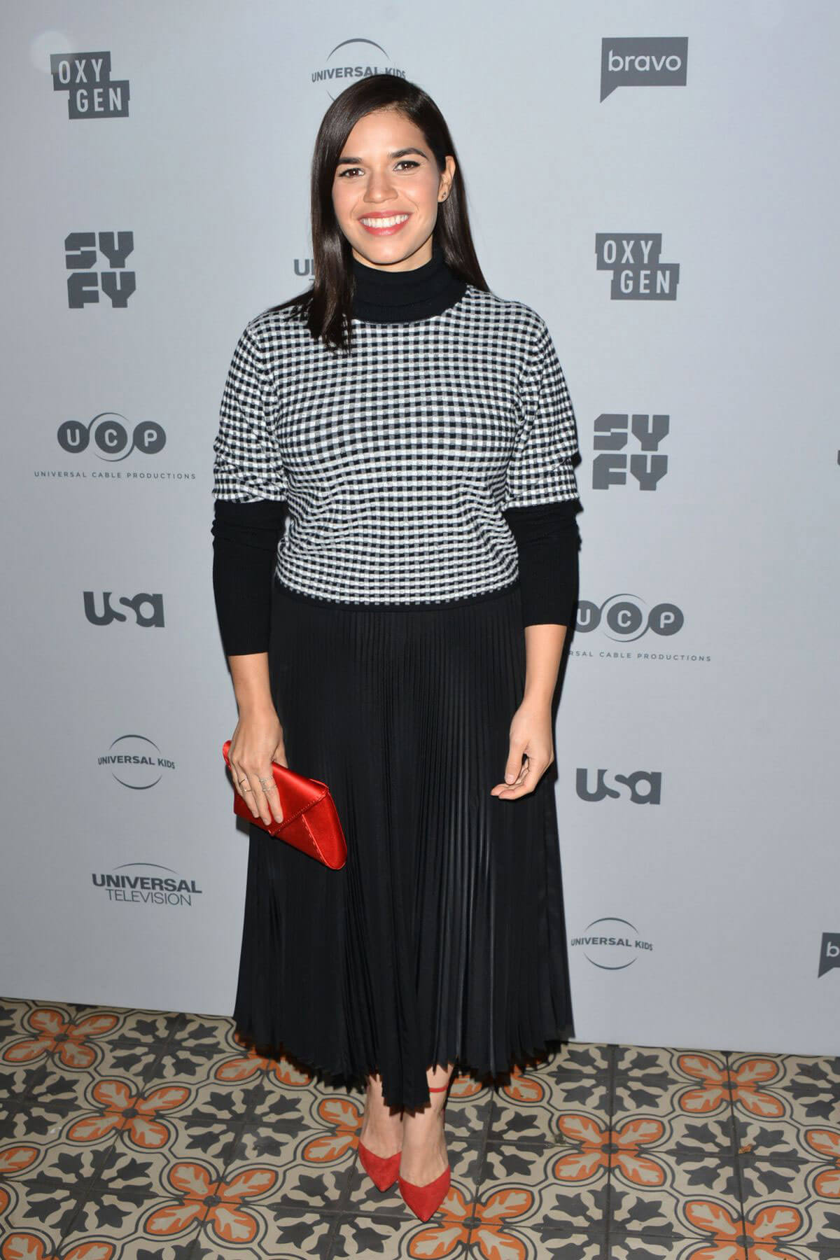 America Ferrera Stills at NBC/Universal Press Junket in Los Angeles
