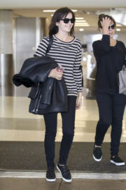 American Actress Camilla Belle Stills at LAX Airport in Los Angeles