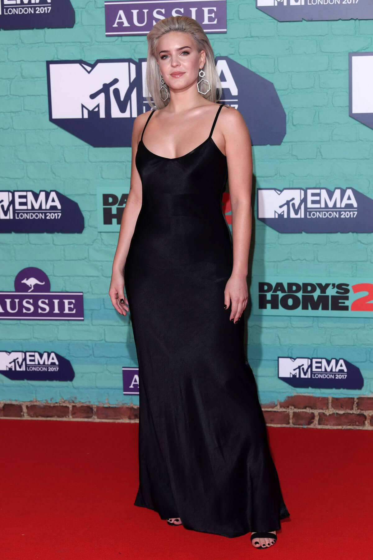 Anne-Marie Stills at 2017 MTV Europe Music Awards in London
