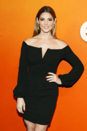 Ashley Greene wears Black Dress Stills at Ember VIP Launch Party in Los Angeles