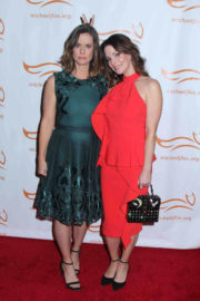 Ashley Williams and Kimberly Williams-Paisley Stills at The Way to Cure Parkinson's Event in New York