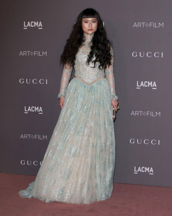 Asia Chow Stills at 2017 LACMA Art + Film Gala in Los Angeles 2017/11/04