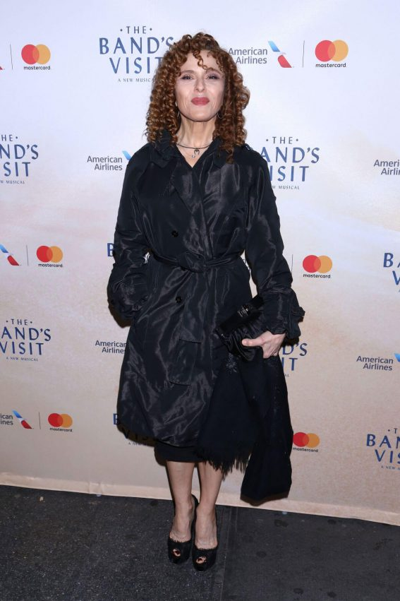 Bernadette Peters Stills at Band Visit Opening Night at Barrymore Theatre in New York