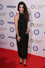 Bianca Bowe Phillips Stills at Collars & Coats Gala Ball in London