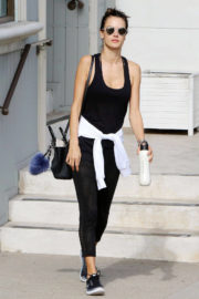 Brazilian Model Alessandra Ambrosio Stills Out and About in Los Angeles
