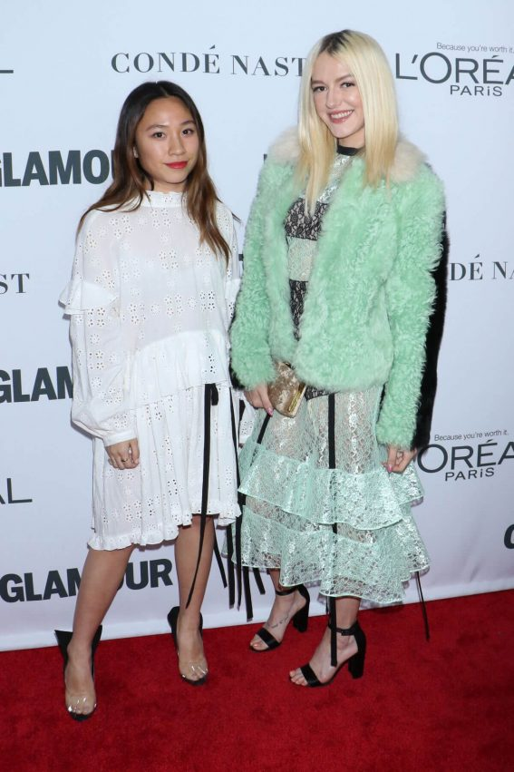 Bria Vinaite Stills at Glamour Women of the Year Summit in New York