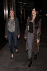 Brittny Gastineau Stills Out for Dinner at Madeo Restaurant in West Hollywood
