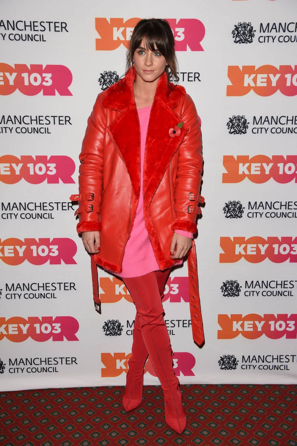 Brooke Vincent Stills at Xmas Switch On in Manchester