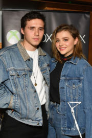 Brooklyn Beckham and Chloe Moretz  Hosts Xbox One X VIP Event Xbox Live Session in New York