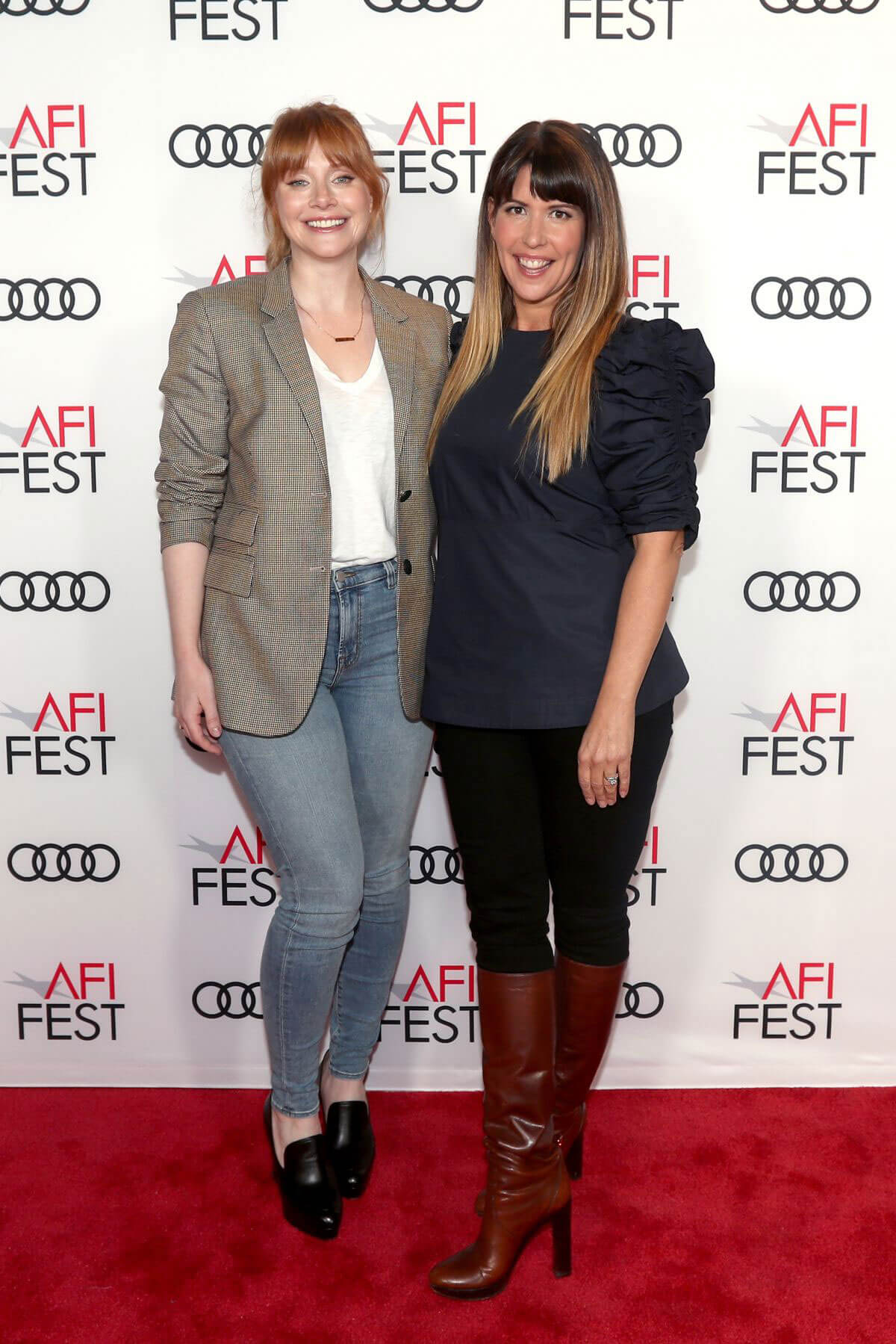 Bryce Dallas Howard Stills at On Directing: Patty Jenkins at AFI Fest 2017 in Hollywood