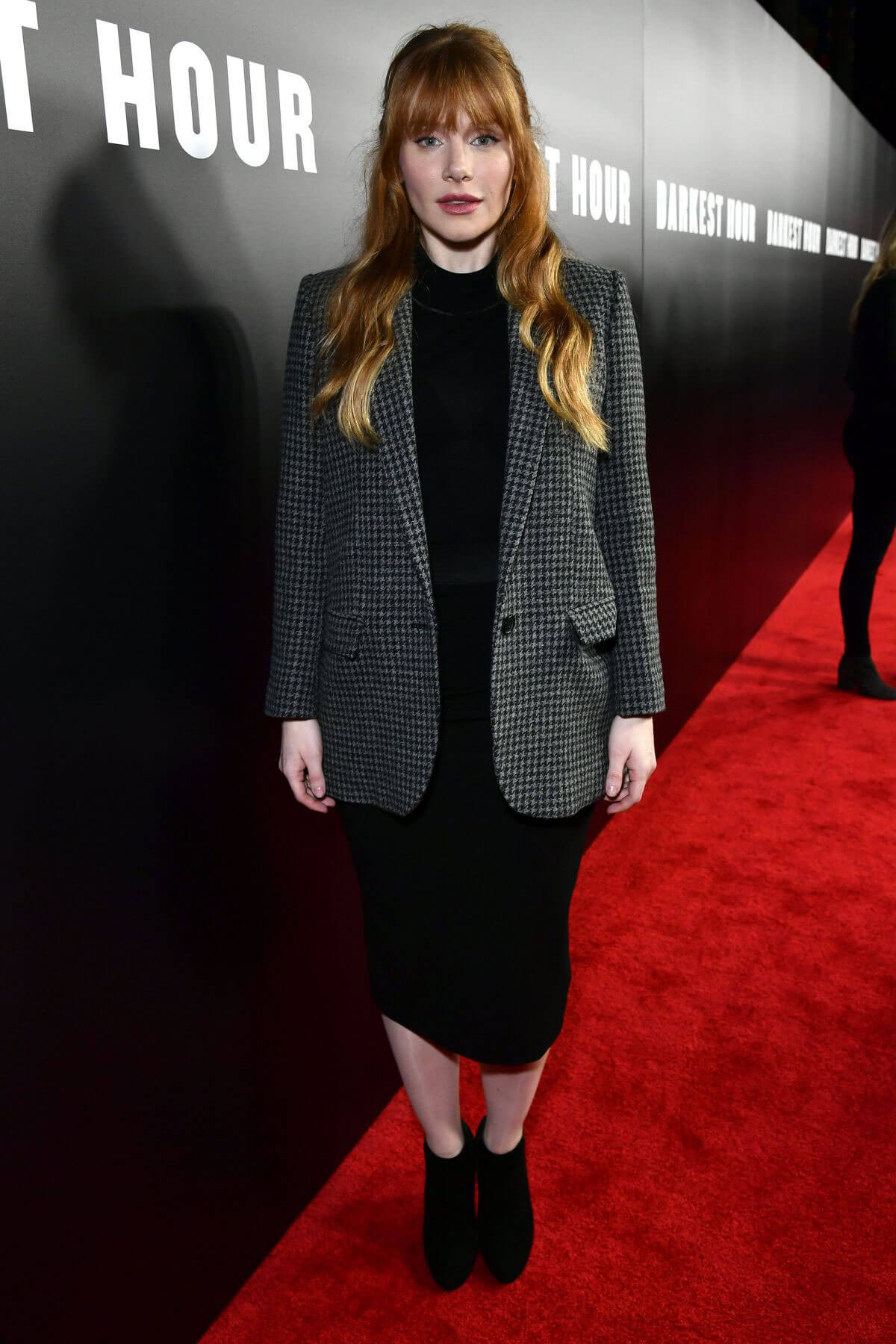 Bryce Dallas Howard wears Formal Dress at Darkest Hour Premiere in Los Angeles