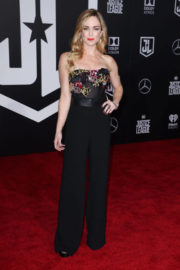 Caity Lotz Stills at Justice League Premiere in Los Angeles