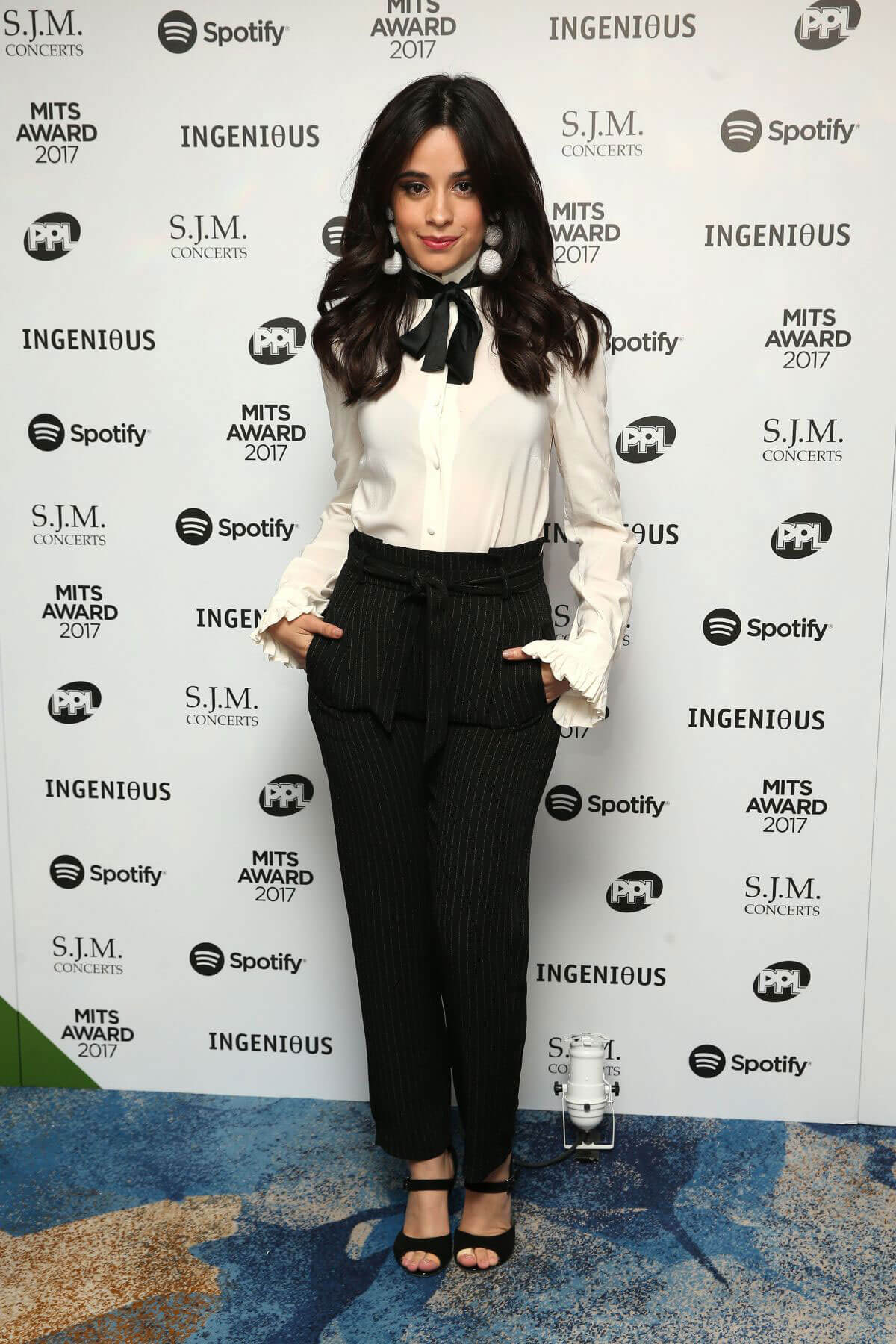 Camila Cabello Stills at 26th Annual Music Industry Trusts Award in London