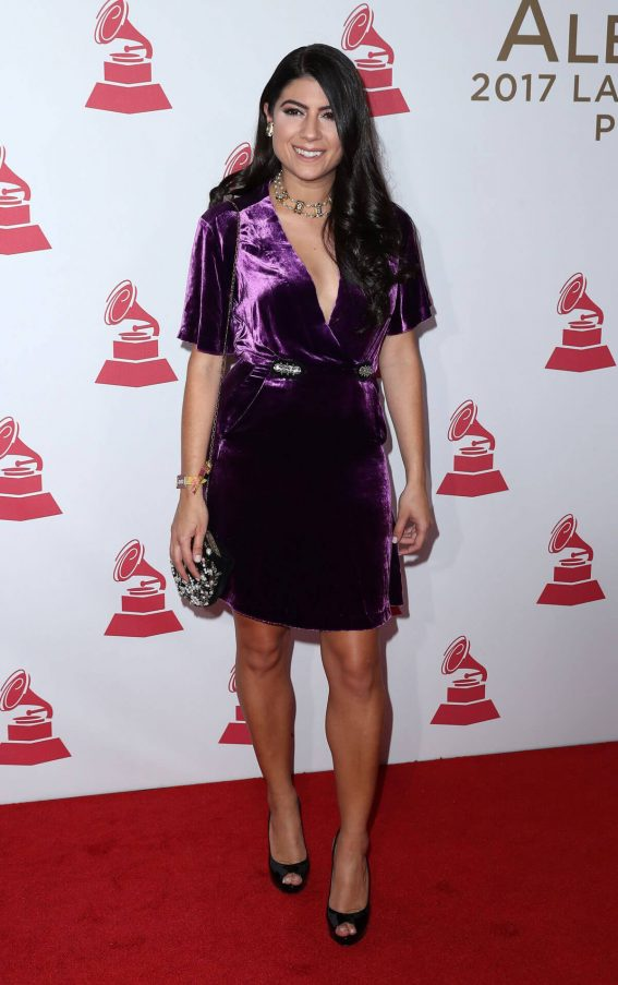 Camila Luna Stills at 2017 Latin Recording Academy Person of the Year Awards in Las Vegas
