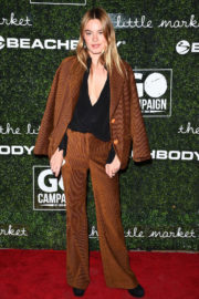 Camille Rowe Stills at 2017 GO Campaign Gala in Hollywood