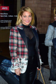 Candace Cameron-Bure Stills Leaves Her Hotel in New York Images