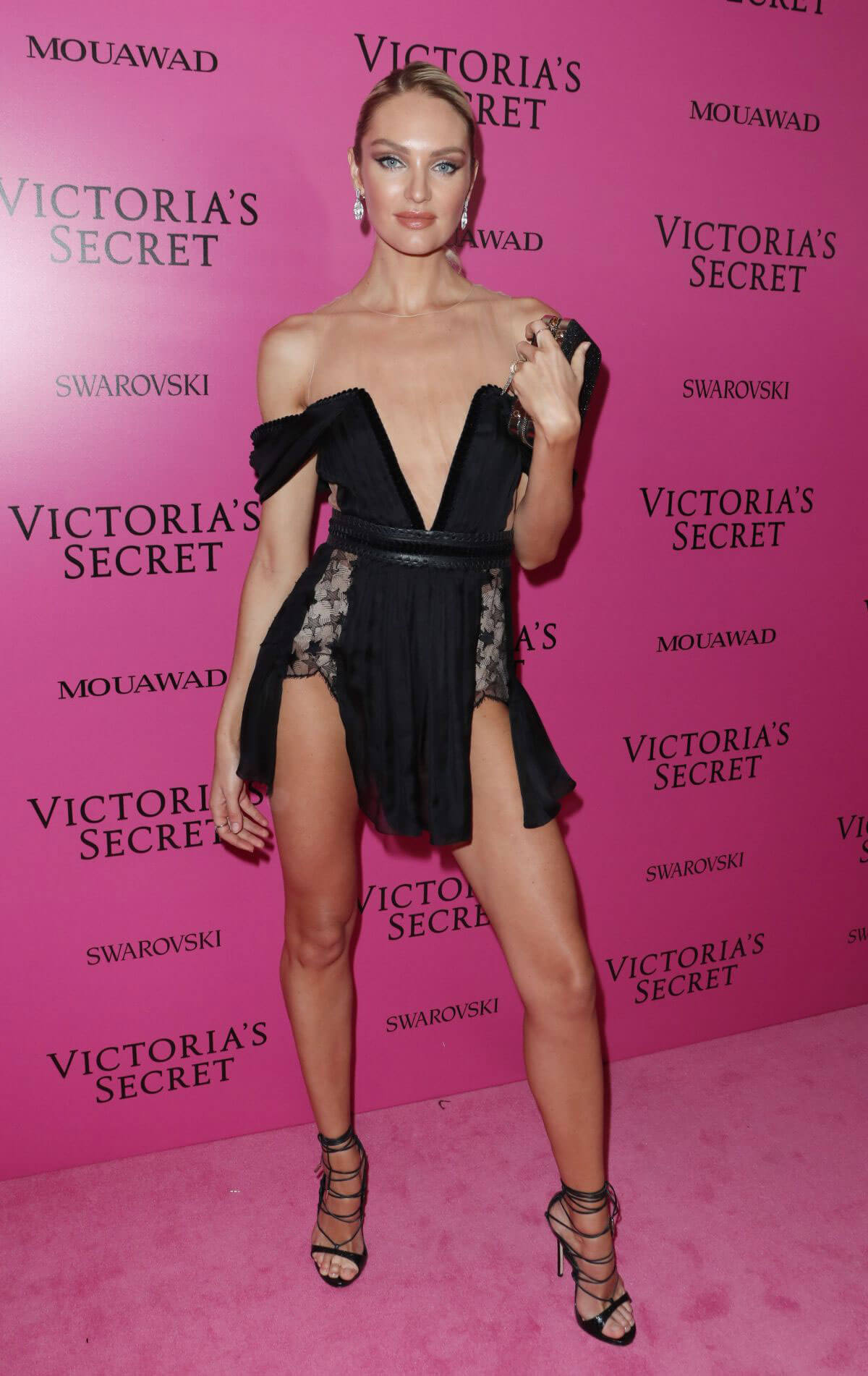 Candice Swanepoel Stills at 2017 Victoria's Secret Fashion Show After Party in Shanghai