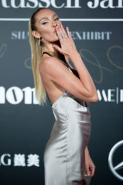 Candice Swanepoel Stills at Mercedes-Benz Backstage Secrets by Russell James Book Launch