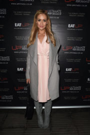 Catherine Tyldesley and Tisha Merry Stills at Refinery Restaurant Opening in Manchester