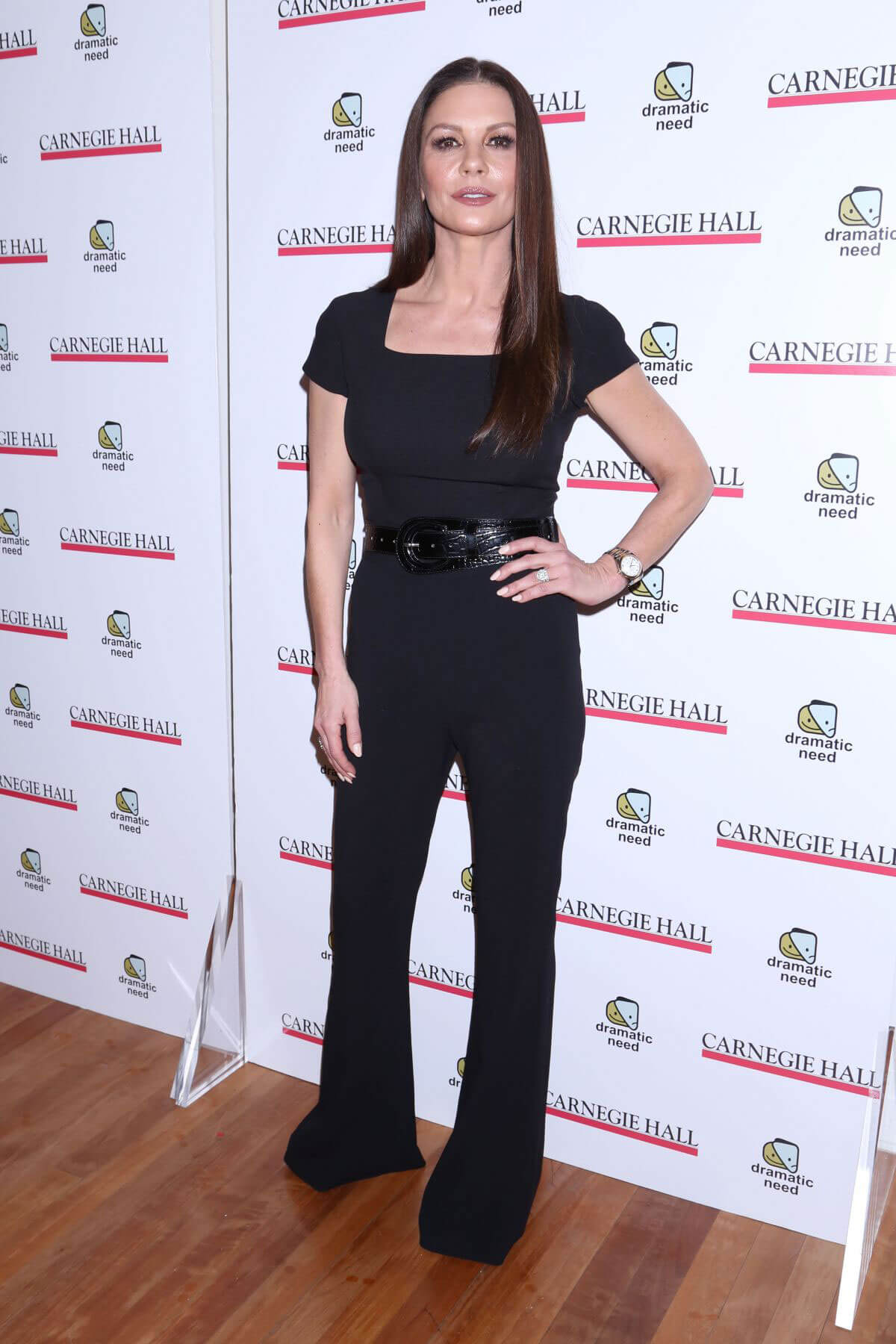 Catherine Zeta-Jones Stills at The Children's Monologues at Carnegie Hall in New York